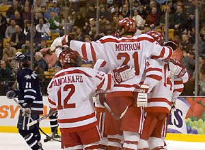 The win puts the Terriers in great position for a No. 1 seed in the NCAAs. (photo: Andrew Gordon)