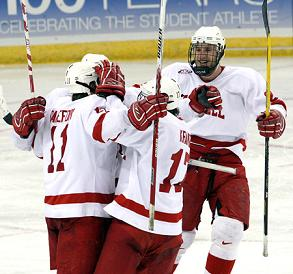 Cornell capped its comeback in the third.