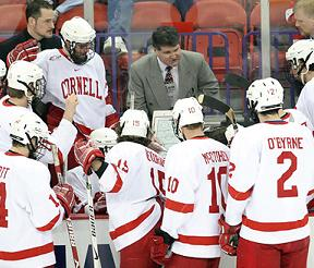 Cornell coach Mike Schafer went back to the drawing board
