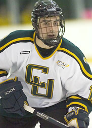 Clarkson junior Steve Zalewski already has eight goals this season. (photo: Chris Lenney)