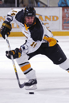 Peter Rouleau has emerged as a significant contributor this season for Michigan Tech.