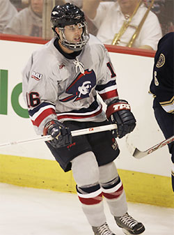 RMU junior Ryan Cruthers is second on the Colonials in scoring this season.