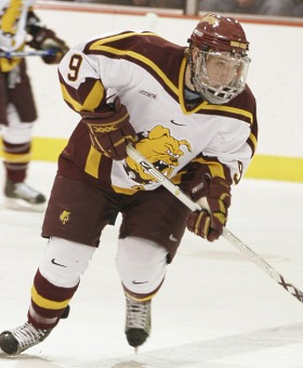 Brendan Connolly leads Ferris State in scoring early on.