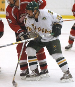 Nick Sirota leads the Wildcats with 16 goals this season.