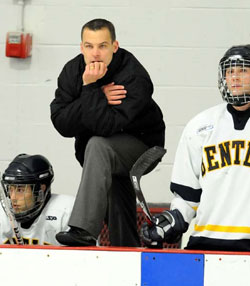Seven years into the job, Ryan Soderquist is still the youngest coach in D-I hockey.