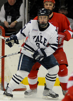 Brian O\'Neill had 12 goals as a freshman for the Bulldogs. (photo: Brad Pettengill)