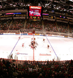 Boston University\'s Agganis Arena is one of a number state of the art facilities built in the last decade.