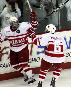 Miami dominated the CCHA regular season this year, and will be a No. 1 seed in the NCAAs.