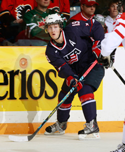 Minnesota\'s Jordan Schroeder had three assists, and surpassed Jeremy Roenick\'s mark for most career World Junior points for Team USA.