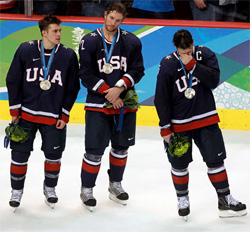 Losing hurts. Losing out on a gold medal in OT is devastating. But perhaps no group ever impressed more in winning a silver medal.