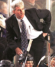 Shawn Walsh passed away in 2001, already a college hockey legend.