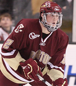 Winning and advancing are all that is on the mind of Brian Dumoulin and Boston College.