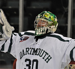 James Mello and Dartmouth were left frustrated again. (photo: Mark H. Anbinder)