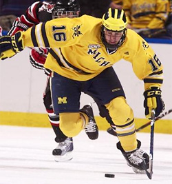 Senior Ben Winnett (photo: Michigan Athletics)