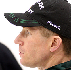Dave Hakstol (photo: Ryan Coleman/d3photography.com)