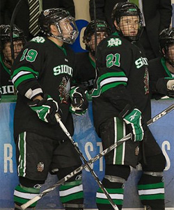 Even Trupp and Matt Frattin lead North Dakota in the Midwest Regional.