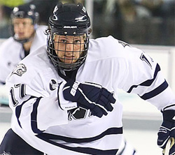 Hockey East: UNH's Paul Thompson Keeps It Close To Home