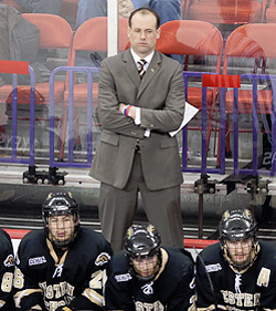 Jeff Blashill took an eight-win team and made them an NCAA Tournament team. (photo: Brad Olson)