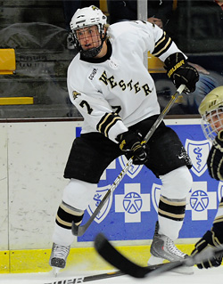 Sophomore defenseman Matt Tennyson is one of several players off to strong starts. (photo: GS Sports)