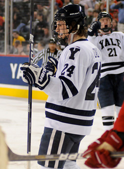 Yale is the No. 1 overall seed after winning the ECAC Tournament title Saturday. (photo: Brad Pettengill)