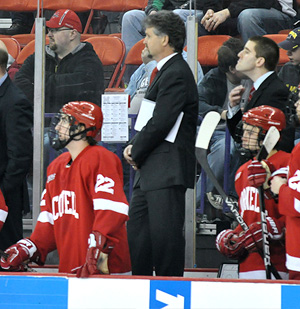 Cornell is now 8-9 in the NCAAs under Schafer. (photo: Mark H. Anbinder/14850.com)