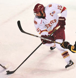 Drew Shore is one of Denver's top guns Ferris State will need to keep an eye on.