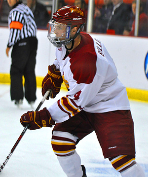Ferris State senior defenseman Chad Billins (photo: Mark H. Anbinder/14850.com)