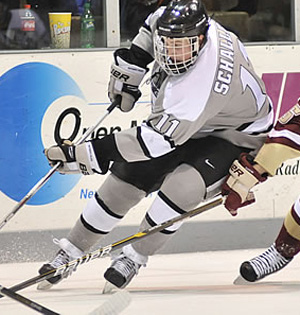 The return of Tim Schaller to the lineup has re-invigorated the Friars\' offense.
