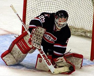 SCSU is turning to freshman Ryan Faragher in net after the season-ending injury to Mike Lee.