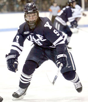Yale senior Brian O'Neill is a preseason favorite for ECAC Player of the Year.