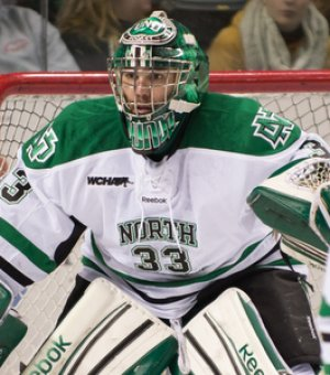 Clarke Saunders (photo: Eric Classen/UND Athletics)