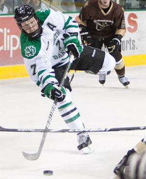North Dakota will be relying heavily on Danny Kristo this season.