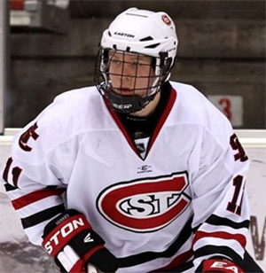 St. Cloud's Kalle Kossila has 17 points in his last 12 games for the top-seeded Huskies (photo: Brace Hemmelgarn)