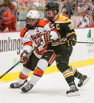 Bowling Green held off Michigan Tech for a Game 1 win. (photo: Todd Pavlack)