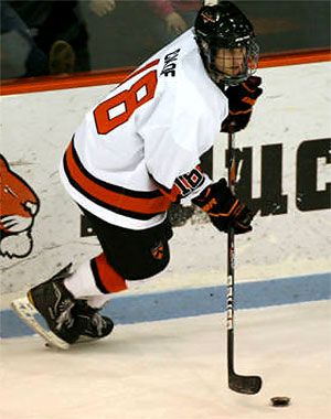 Princeton\'s Andrew Calof is a unheralded player that could put up big numbers this season.