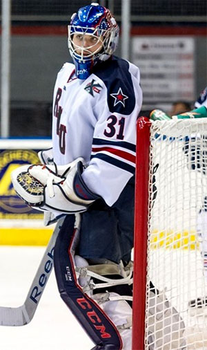 Dalton Izyk (photo: Robert Morris athletic communications)
