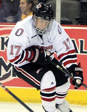 Ryan Walters is a Hobey candidate for Nebraska-Omaha.
