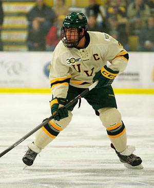 Chris McCarthy leads Vermont into the playoffs, starting against UMass.