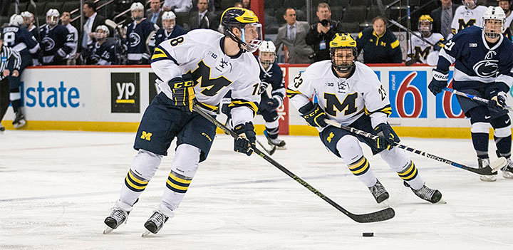 BIG10: Wonverine Freshman Connor Named College Hockey News Player Of The Year