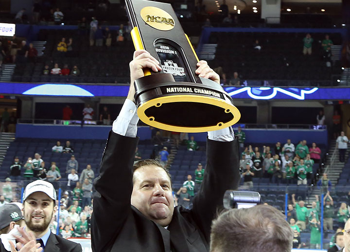 NCAA: Berry Did It His Way