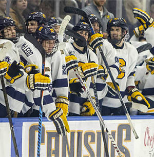 huge selection of ec8a3 523c2 Canisius' Wild Ride to the Top : College Hockey News