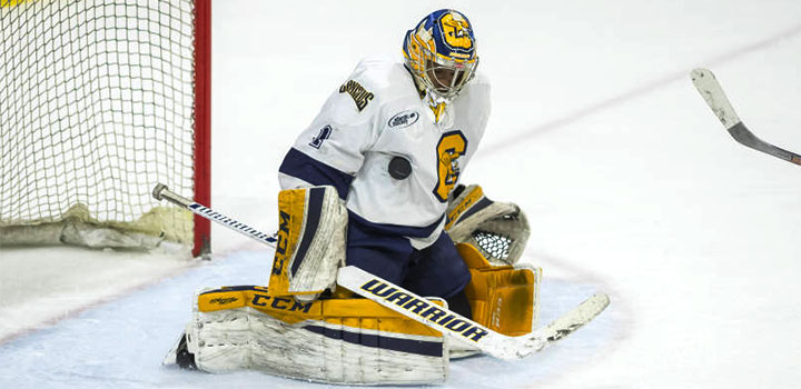 Charles Williams leads top-seeded Canisius into the Atlantic Hockey quarterfinals on a 15-game unbeaten streak.