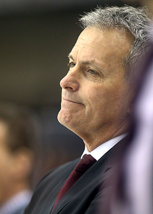 Minnesota coach Don Lucia (photo: Robert Dungan)