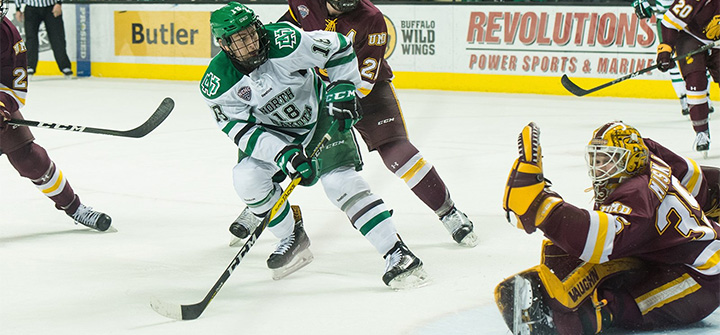 Minnesota-Duluth's Hunter Miska emerged as a reliable No. 1 for the Bulldogs, helping propel them to No. 1 in the Pairwise so far.