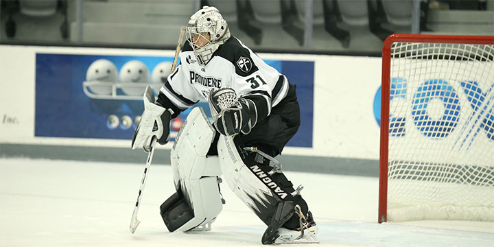Hockey East: Under Pressure - Hawkey Aims To Fill Big Shoes In Providence's Net
