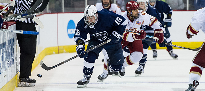 Forwards like Andrew Sturtz will be a big part of Penn State's future. (photo: Todd Pavlack)