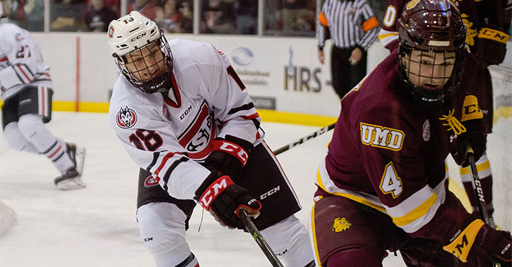 Minnesota-Duluth had a big weekend in St. Cloud and sits atop the early Pairwise.