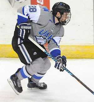 UAH defenseman Kurt Gosselin was named to the league's preseason team.