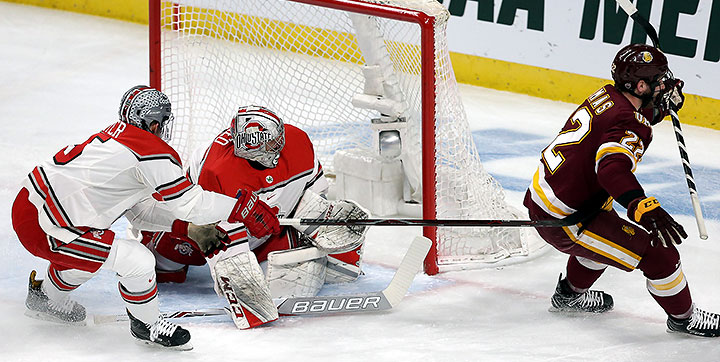 UMD's Thomas Gets Biggest Goal Yet