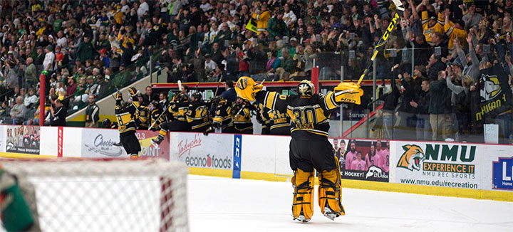 WCHA: U.P. Battle Goes To Cinderella Tech In Conference Final